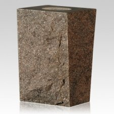Dakota Mahogany Rustic Granite Vase