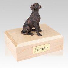Dalmatian Bronze Large Dog Urn