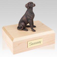 Dalmatian Bronze X Large Dog Urn