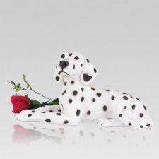 Dalmatian Cremation Urn