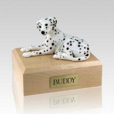 Dalmatian Laying X Large Dog Urn