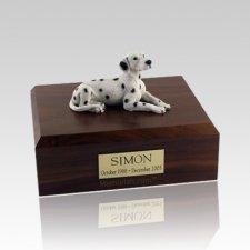 Dalmatian Resting Large Dog Urn