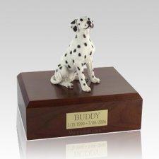 Dalmatian Seated Large Dog Urn