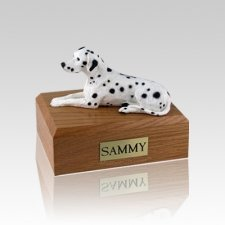 Dalmatian Small Dog Urn