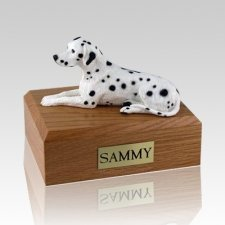 Dalmatian X Large Dog Urn
