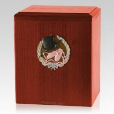 Dance Cherry Cremation Urn