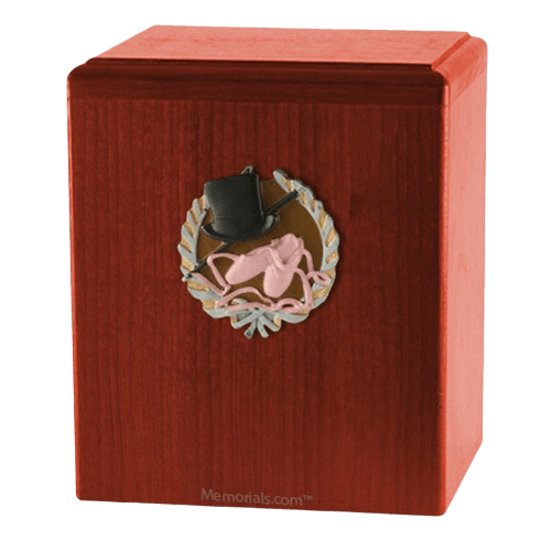 Dance Cherry Cremation Urn