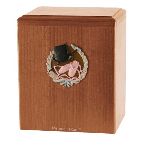 Dance Light Cherry Cremation Urn