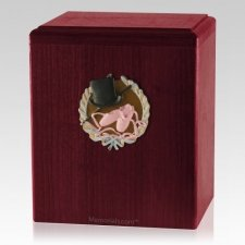 Dance Rosewood Cremation Urn