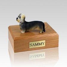 Dandie Dinmont Terrier Large Dog Urn