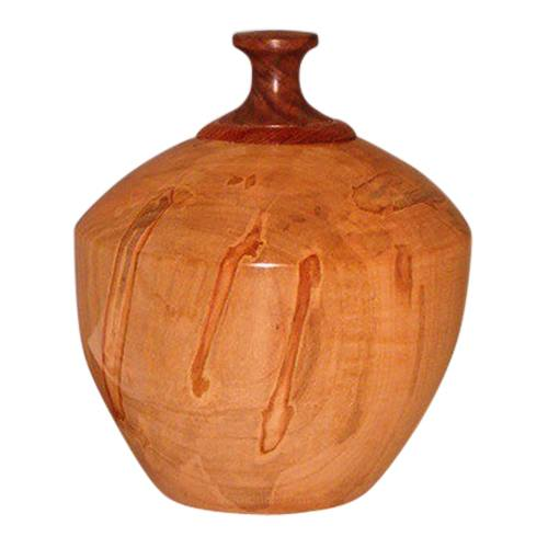 Pact Wood Pet Cremation Urn