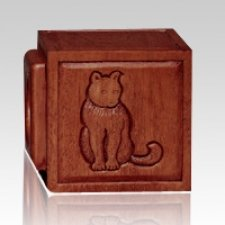 Dark Small Dog & Cat Cremation Urn