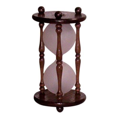 Hourglass Dark Oak Pet Urn