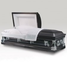 Dartmounth Silver Metal Caskets
