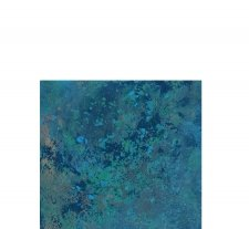 Deep Sea Painting with Cremation Ashes II