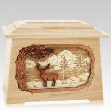 Deer Land Maple Aristocrat Cremation Urn