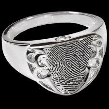 Defender Cremation Print Rings