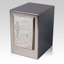 Desert Life Cremation Urn