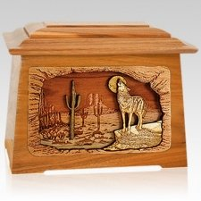 Desert Moon Mahogany Aristocrat Cremation Urn