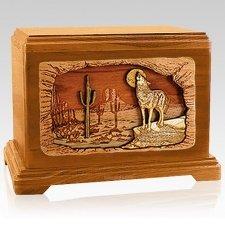 Desert Moon Mahogany Hampton Cremation Urn