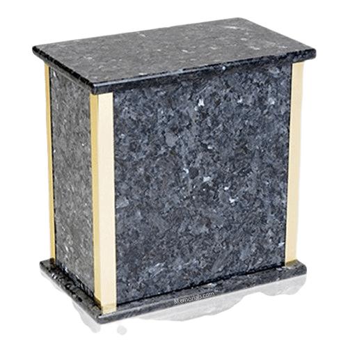 Designer Blue Pearl Granite Cremation Urns