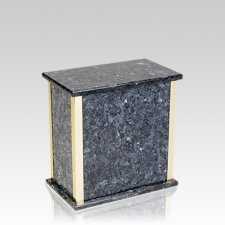 Designer Blue Pearl Granite Medium Urn