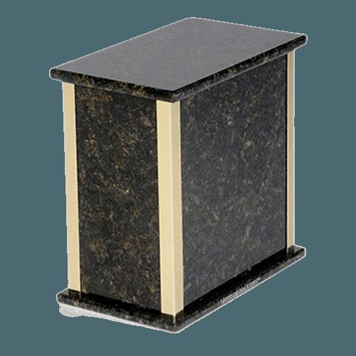 Designer Verde Granite Cremation Urns