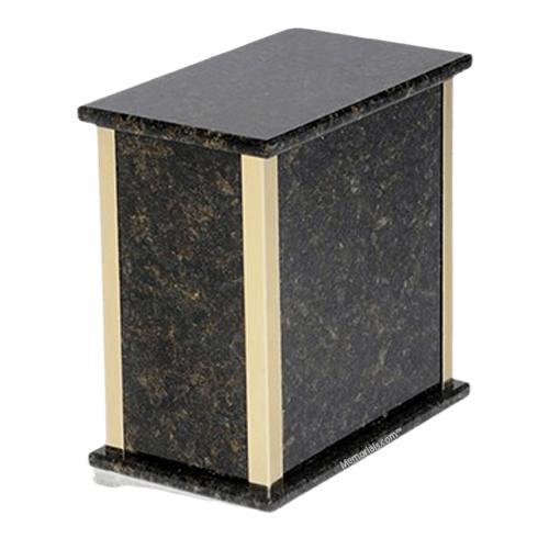Designer Verde Granite Cremation Urn
