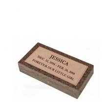 Devotion Mini Granite Pet Grave Marker