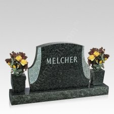 Dignidad Companion Granite Headstone