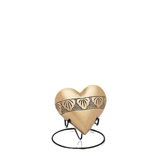 Dignified Heart Keepsake Urn