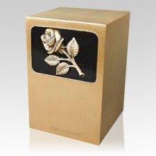 Dignified Rose Bronze Urn