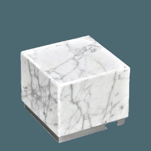Dignity Silver Medium Carrera Marble Urn