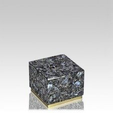 Dignity Blue Pearl Granite Medium Urn
