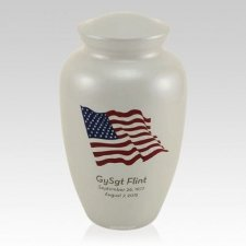 Dignity Flag Cremation Urn