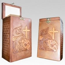Dignity Leather Cremation Urns
