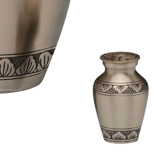 Dignity Pewter Keepsake Cremation Urn