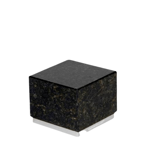 Dignity Silver Verde Granite Medium Urn