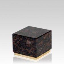 Dignity Tan Brown Granite Medium Urn