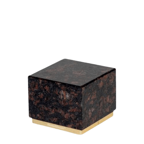 Dignity Tan Brown Granite Medium Urn