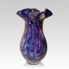 Diochroic Rainbow Glass Cremation Urns