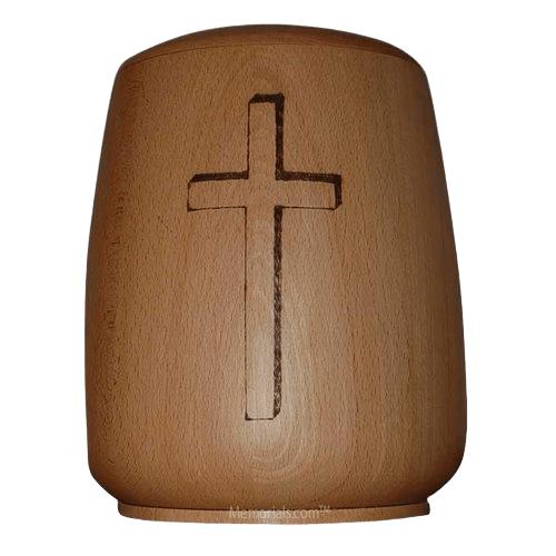 Divine Wood Cremation Urn