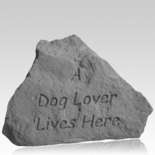 Dog Lover Pet Memorial Stone