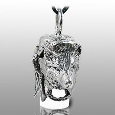 Dog Spirit Pet Ash Urn Necklace
