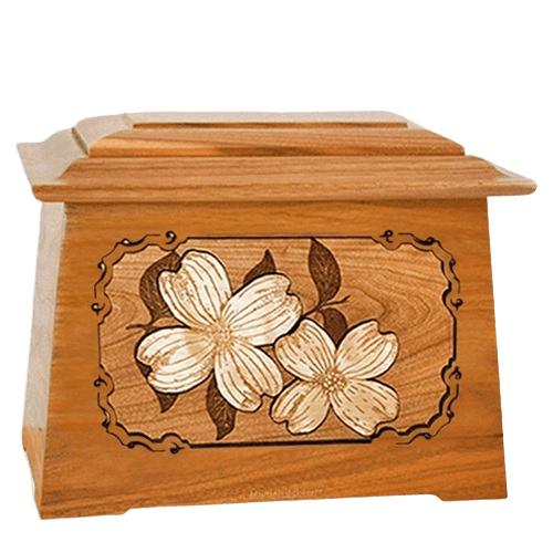 Dogwood Mahogany Aristocrat Cremation Urn