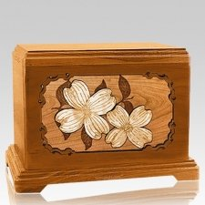 Dogwood Mahogany Hampton Cremation Urn