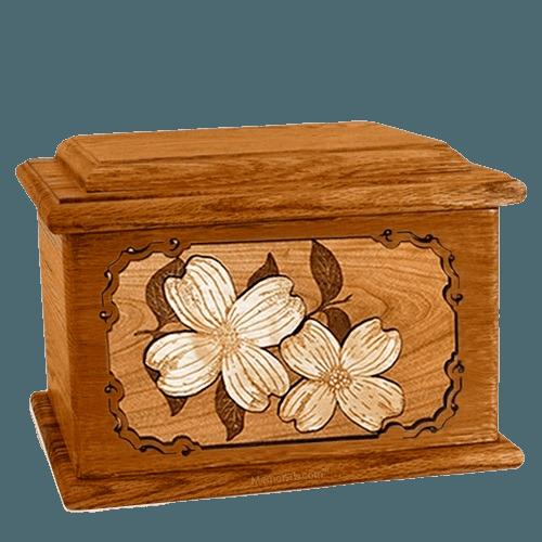 Dogwood Mahogany Memory Chest Cremation Urn