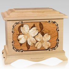 Dogwood Maple Cremation Urn