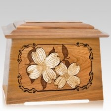 Dogwood Oak Aristocrat Cremation Urn
