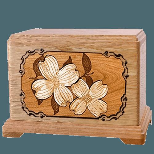 Dogwood Oak Hampton Cremation Urn